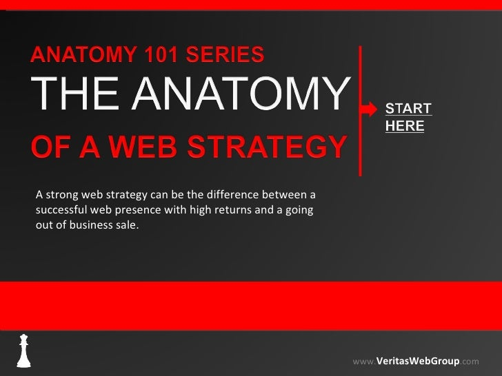 A strong web strategy can be the difference between a successful web presence with high returns and a going out of busines...
