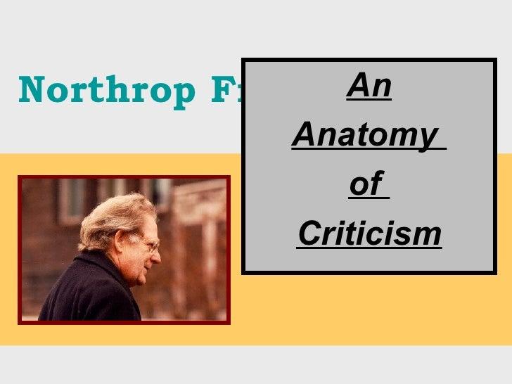 Northrop Frye An Anatomy  of  Criticism