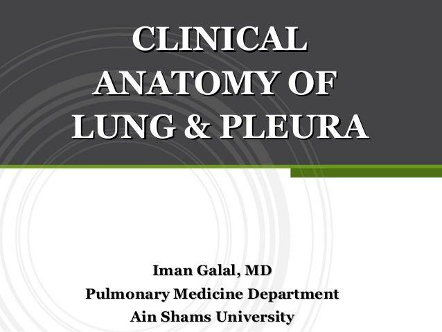 Iman Galal, MDIman Galal, MD Pulmonary Medicine DepartmentPulmonary Medicine Department Ain Shams UniversityAin Shams Univ...