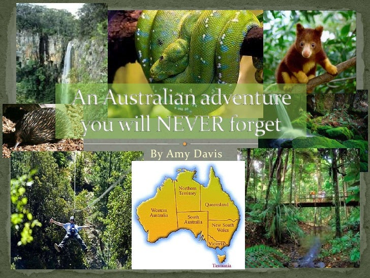 An Australian adventure you will NEVER forget<br />By Amy Davis<br />