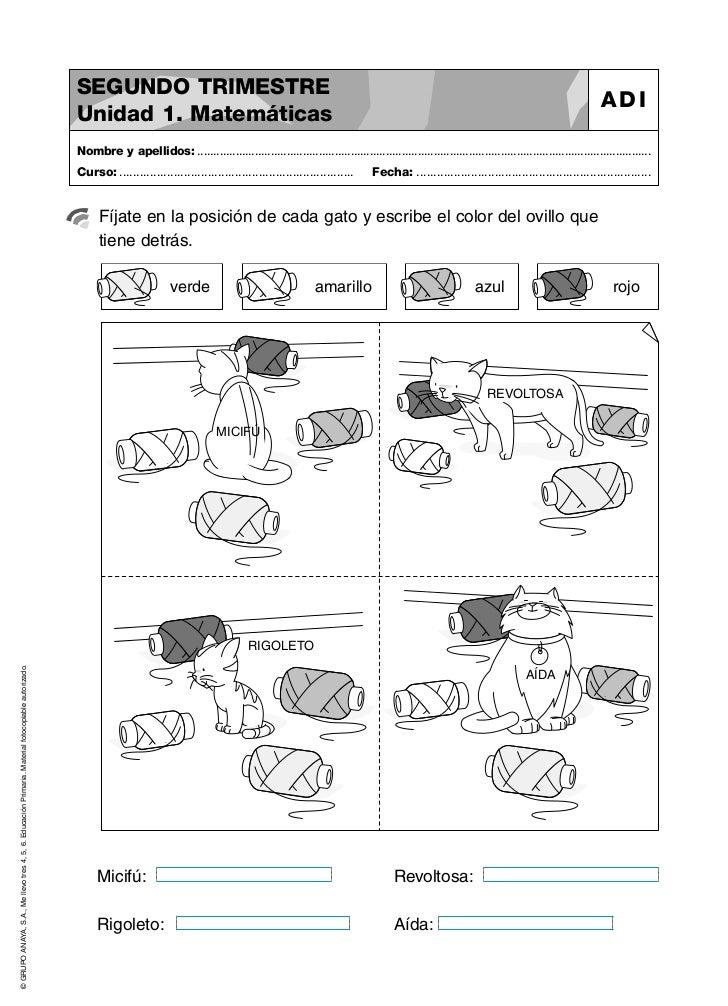 Anaya 2º primaria. Desarrollo inteligencia (razonamiento matermático) II