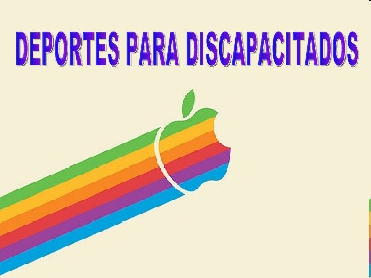 DEPORTES PARA DISCAPACITADOS