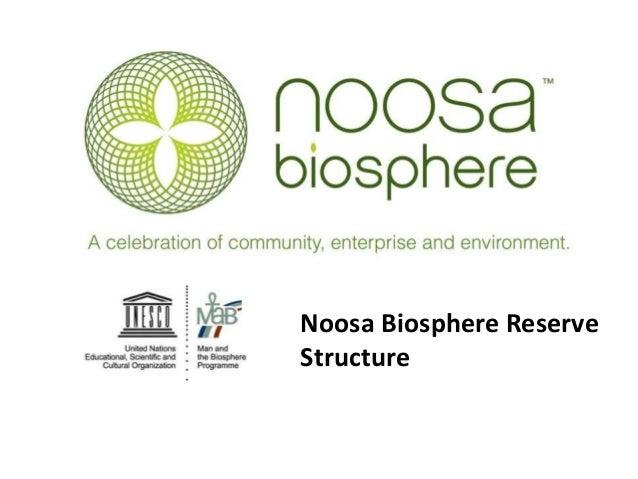 Noosa Biosphere Reserve Structure