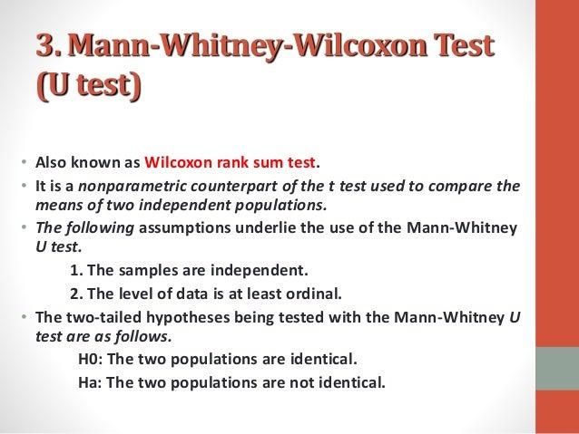 intermediate statistics wilcoxon test