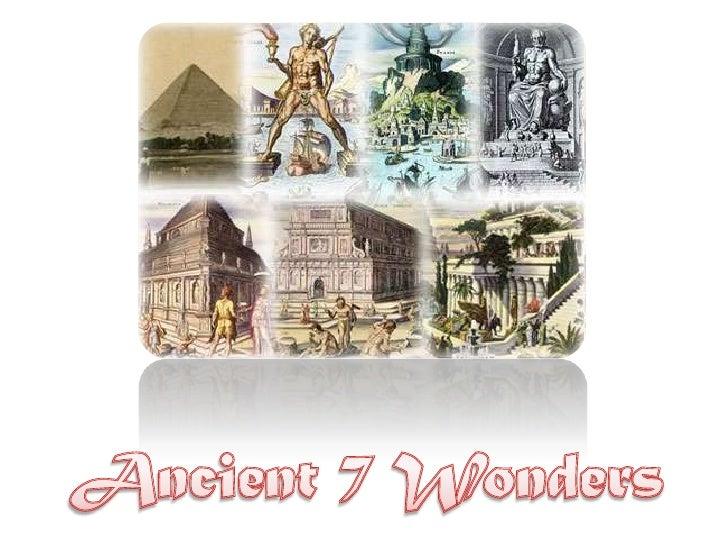 Ancient 7  Wonders