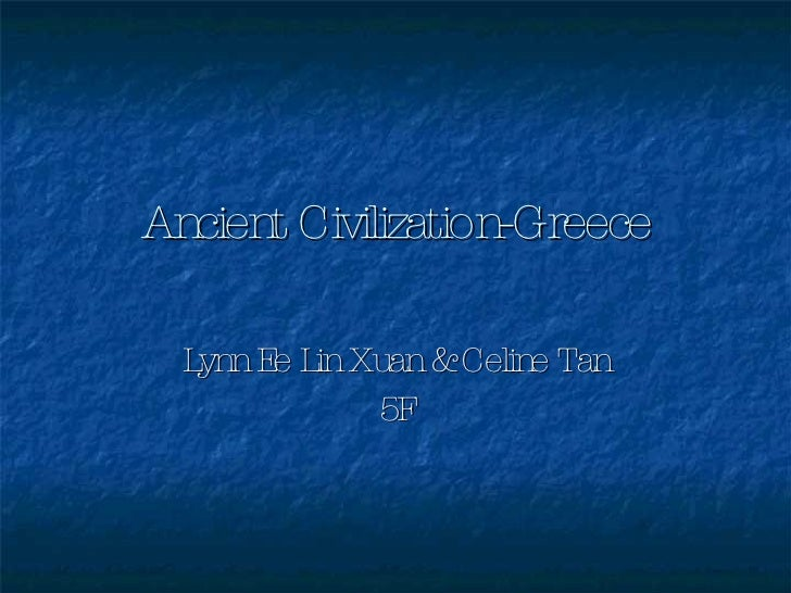 Ancient Civilization Greece