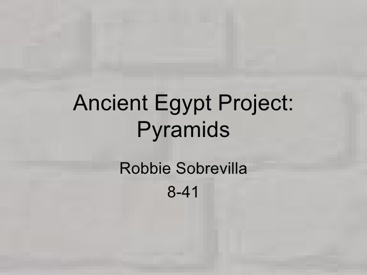 Ancient  Egypt  Project
