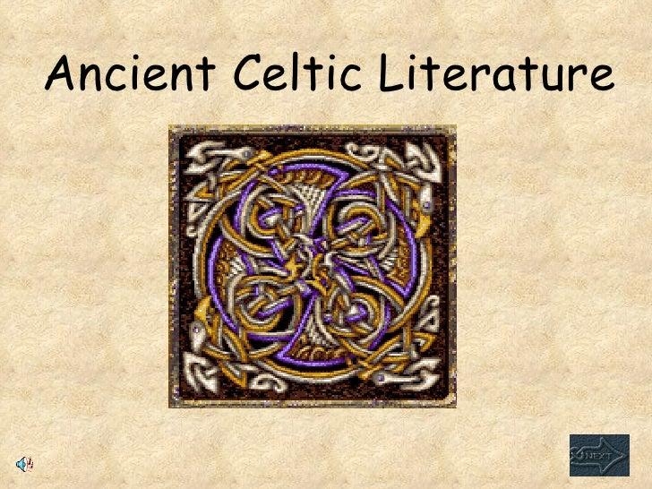 Ancient Celtic Literature Web Quest