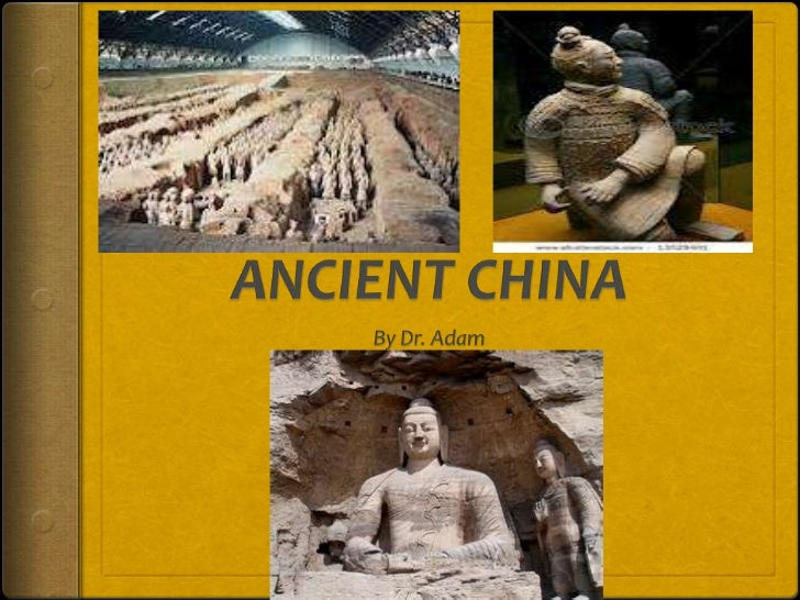 The civilization of ancient China existed between 750B.C and 1279 AD. It was located in the place China isnow, part of Asi...