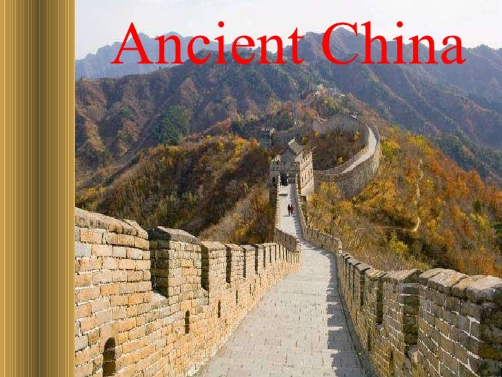 Ancient China Overview