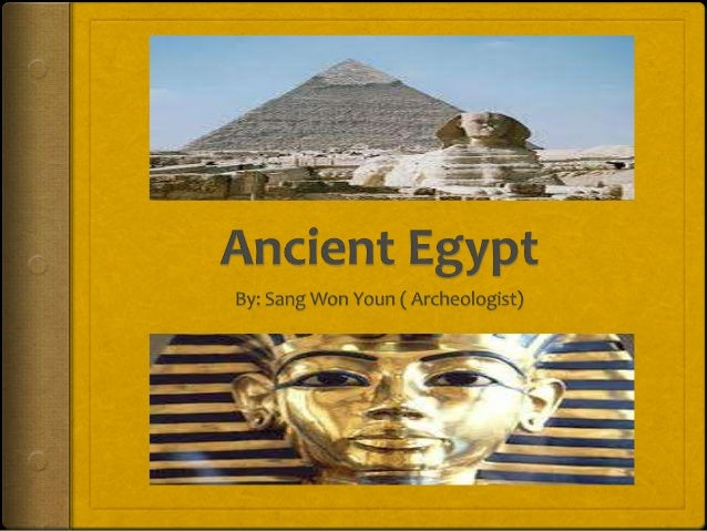 IntroductionAncient Egypt was a civilization which existedthousands of years ago. The Egyptians left manyinventions and id...