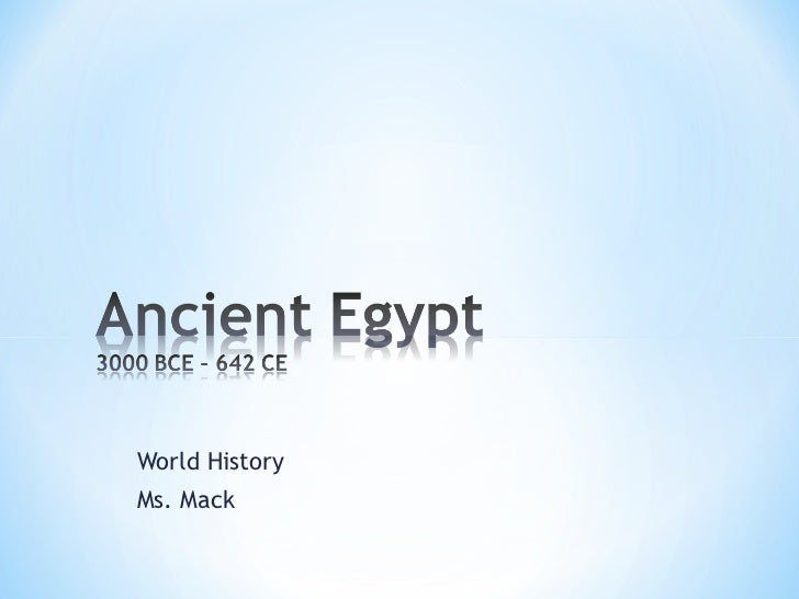 World HistoryMs. Mack
