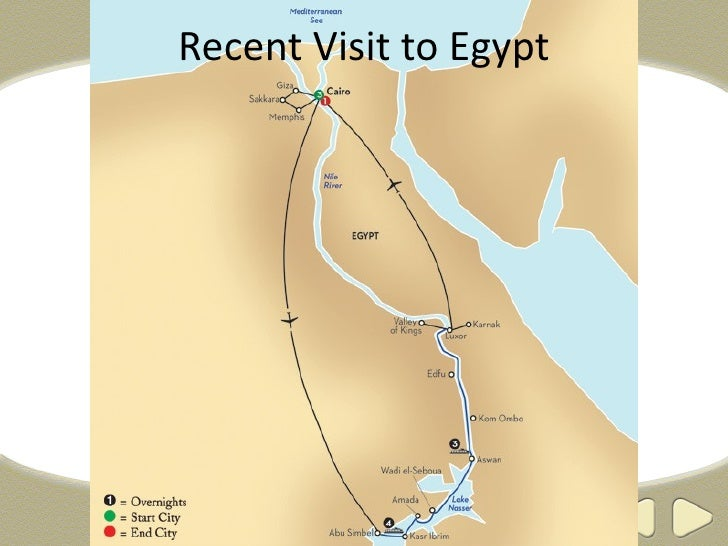 Recent Visit to Egypt