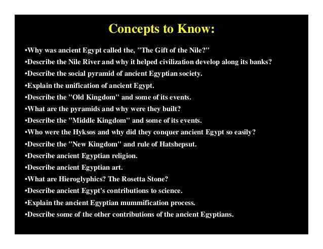 Why is egypt called the gift of the nile