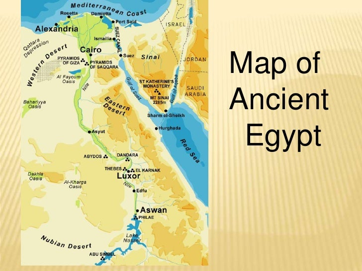 Map of <br />Ancient<br /> Egypt<br />