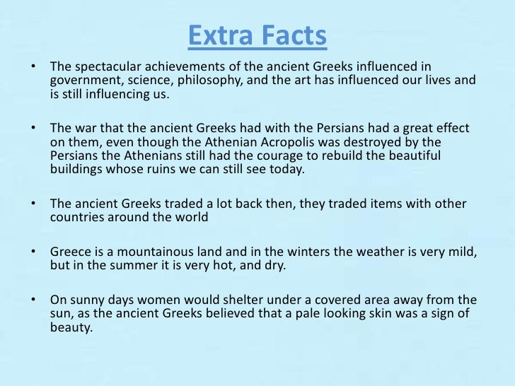 "daily life in ancient greece essay The term ""ancient greece"" refers to the period of history that lasted from 750 bc ( the archaic period) to 146 bc (the roman conquest) ancient greece slaves were very important to ancient greek daily life slaves students must identify an ancient greek influence in their home town and write about this in essay format."