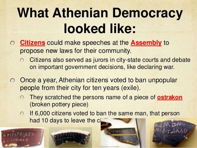 road to democracy history essay