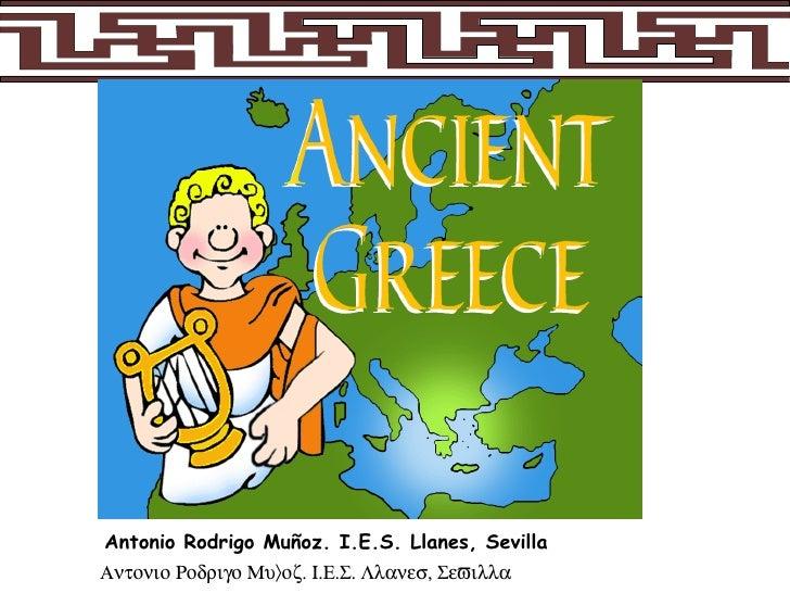 Ancient Greece. 1º Eso