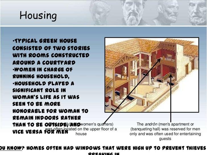 Ancient Greek Civilization Domestic Life