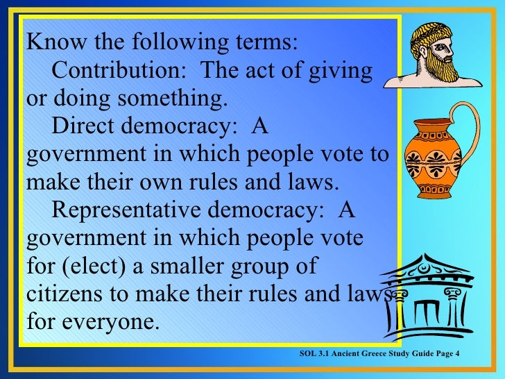 Democracy American Government Direct Democracy a Government