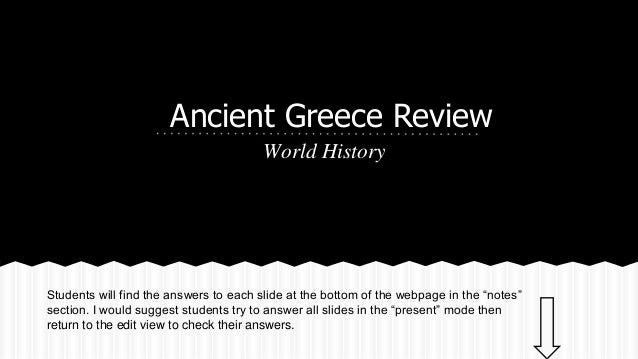 Ancient greece vocabulary & review for jeopardy