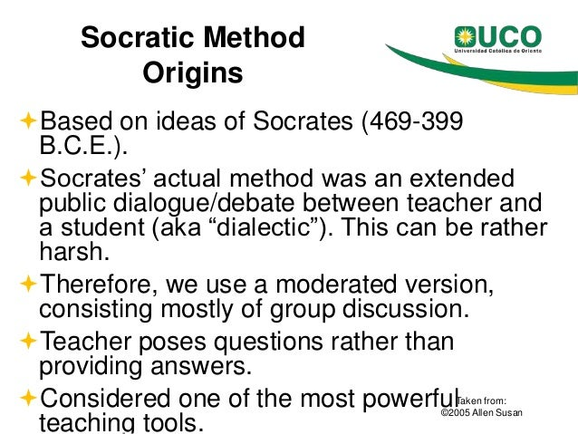 socratic method a superior approach