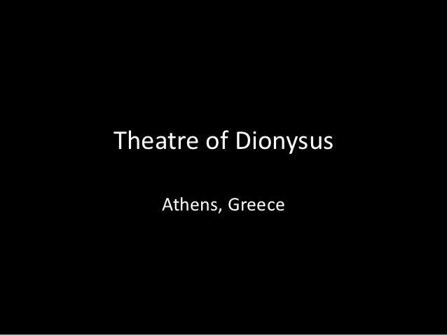 Theatre of Dionysus    Athens, Greece