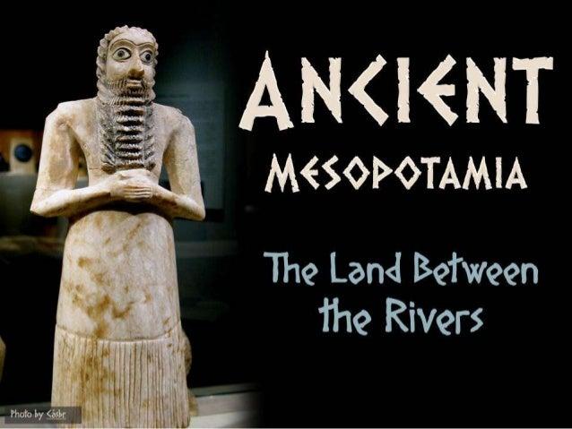 Ancient Mesopotamia (World History)