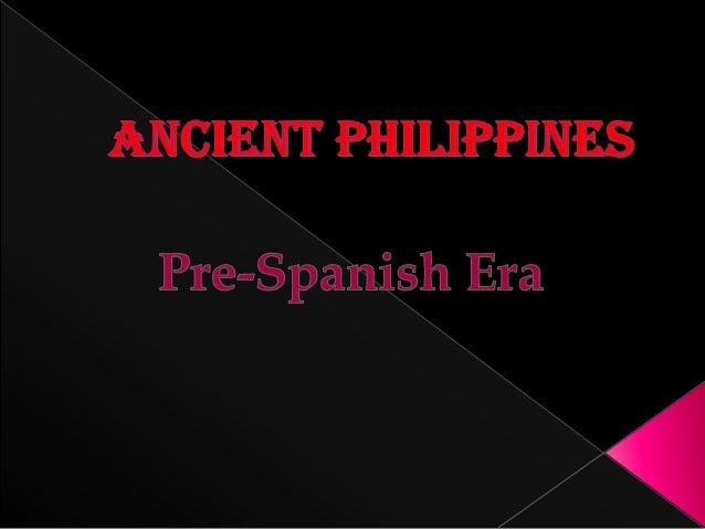 Ancient philippines