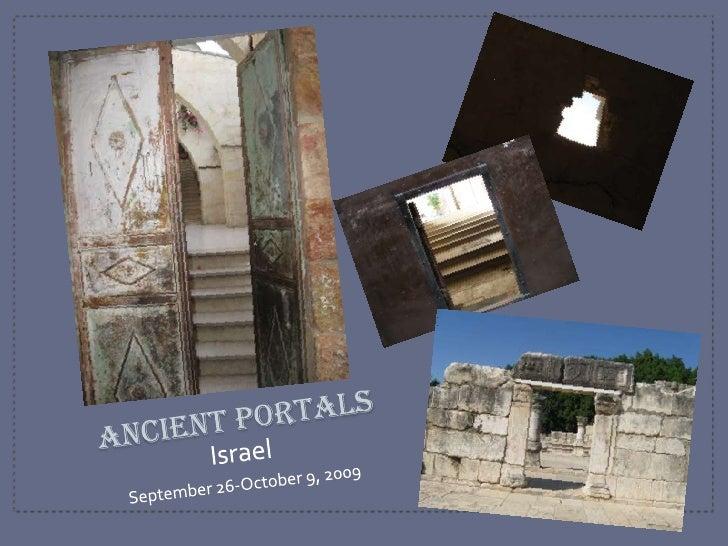 Ancient Portals