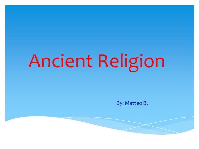 Ancient religion