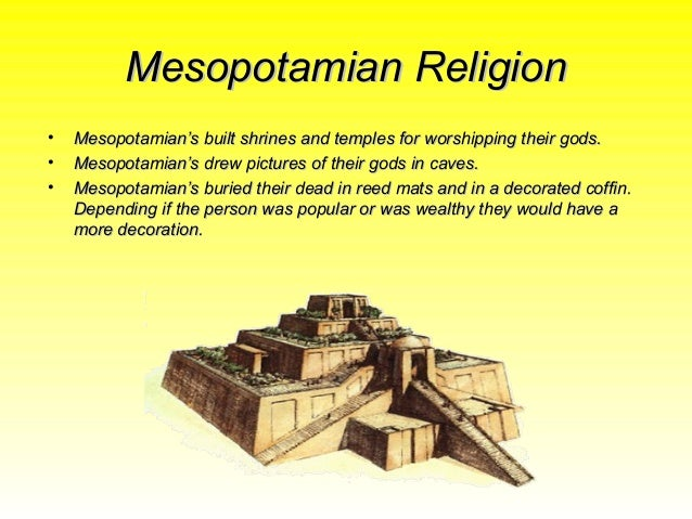 the sumerian religious beliefs and their four gods Their religious system was a complex sumerian chaos monster and sun god structure but what we do know is that the four gods mentioned previously.
