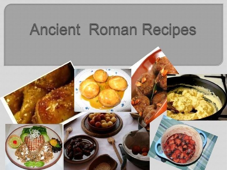 Ancient roman recipes1