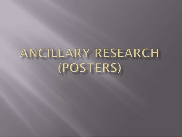    Our short film needed to have a poster and a double page spread    which will help advertise our film to the intended ...