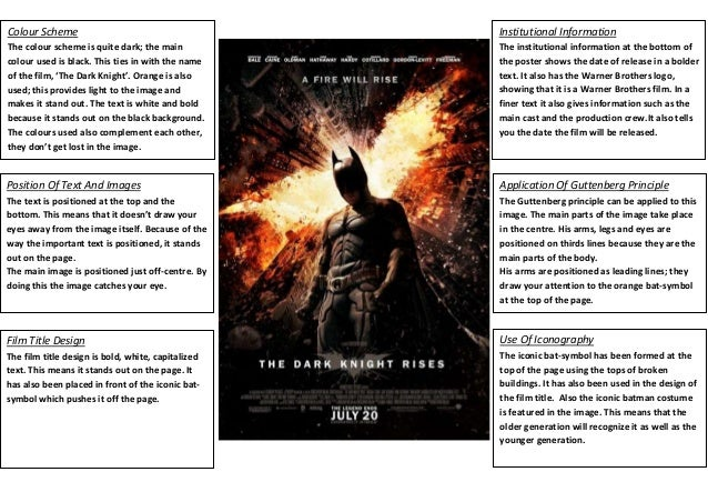 Analysis of the Dark Knight film Essay
