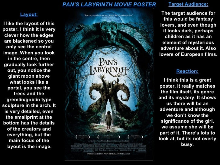 movie poster analysis essay Essay about analysis of the use of film trailers and film posters - analysis of the  use of film trailers and film posters film posters come in a wide variety of.