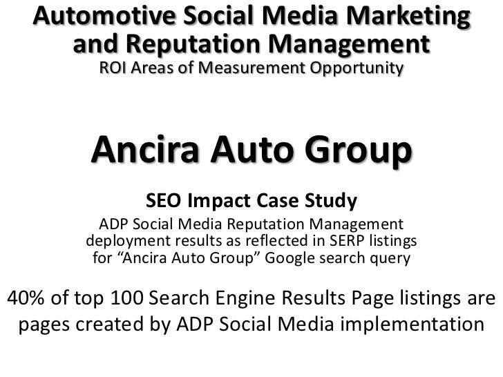 Ancira auto group serp