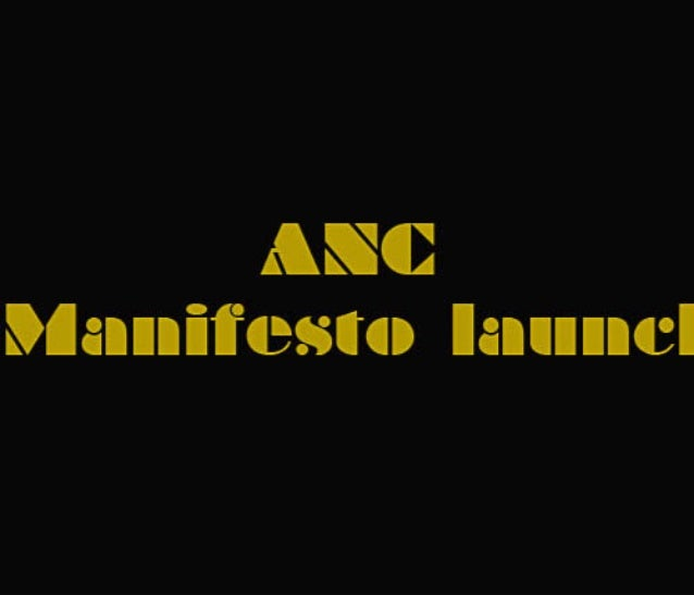 Photobook: ANC Manifesto Launch