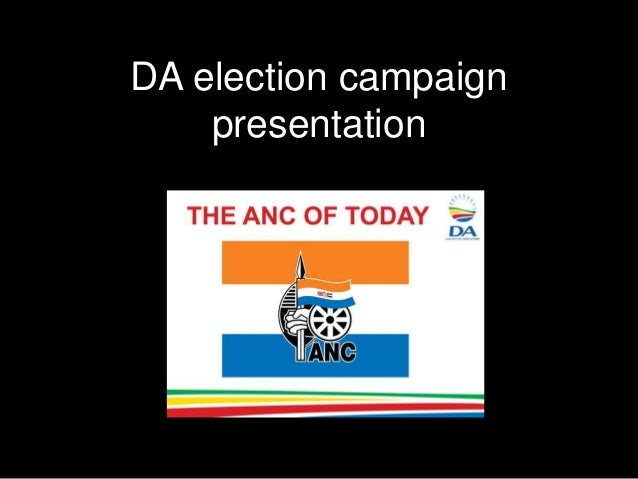 DA election campaignpresentation