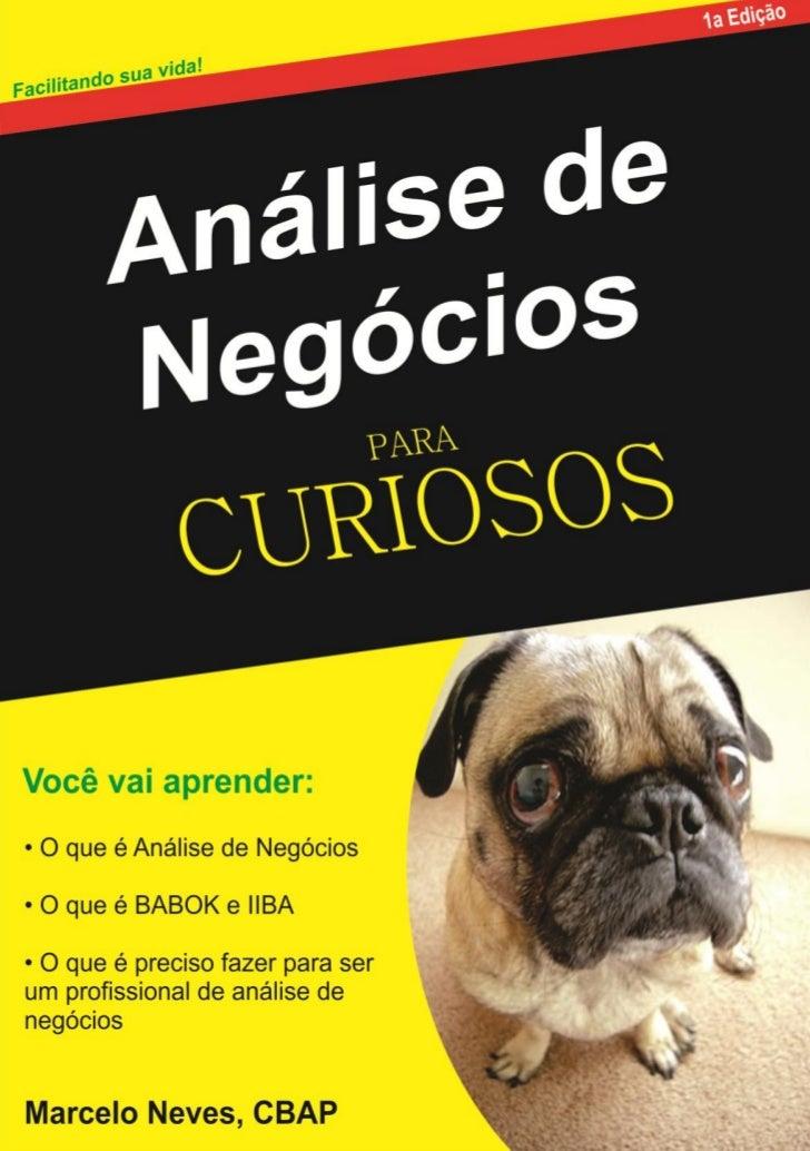 Análise de Negócios para Curiosos | 2/25/2012