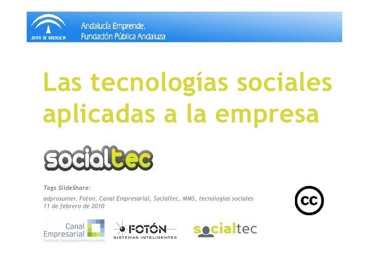 Andalucía Emprende - Sesión 1