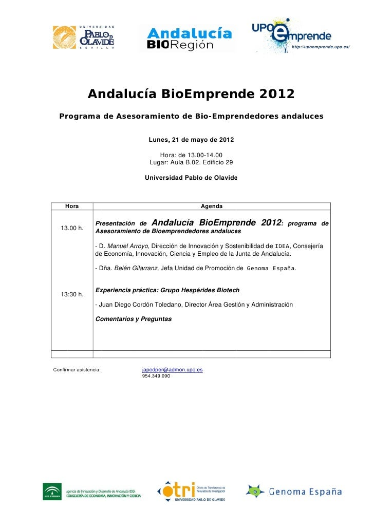 Andalucia BioEmprende