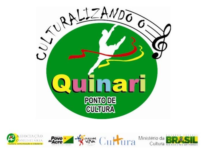 Ponto de Cultura• É ação prioritária do programa Cultura  Viva, que repassa recursos para entidades da  sociedade civil de...