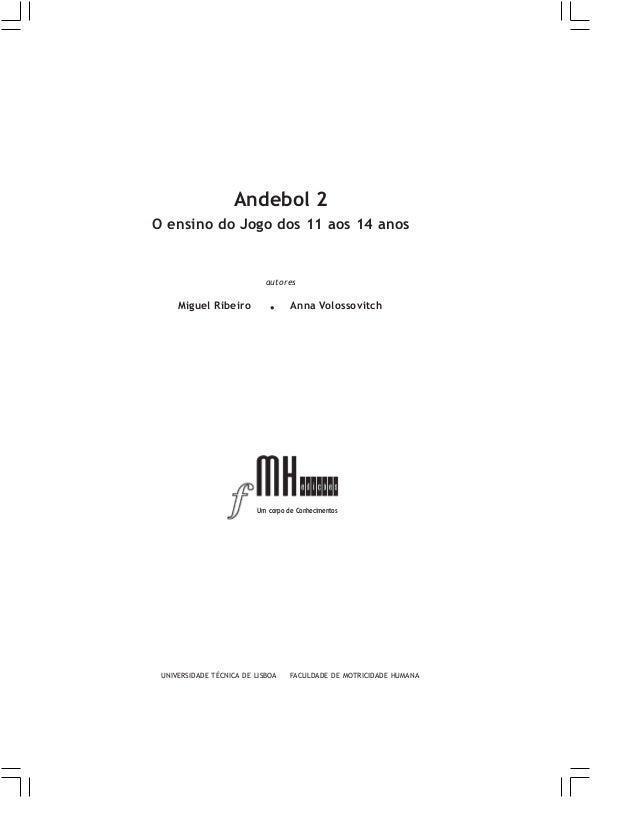 Andebol 2 - O Ensino do Jogo dos 11 aos 14 anos
