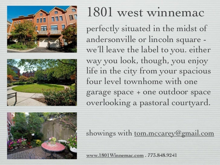 1801 west winnemacperfectly situated in the midst ofandersonville or lincoln square -we'll leave the label to you. eitherw...