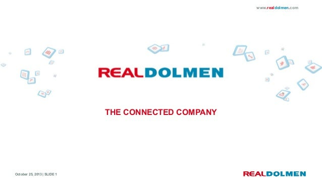 www.realdolmen.com  THE CONNECTED COMPANY  October 25, 2013 | SLIDE 1