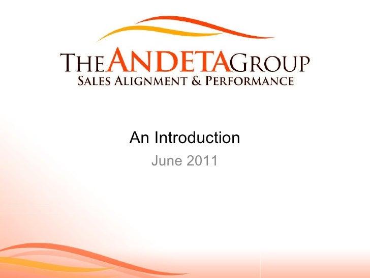 Andeta grouppresentationintro