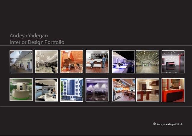 Andeya YadegariInterior Design Portfolio TAFE Projects