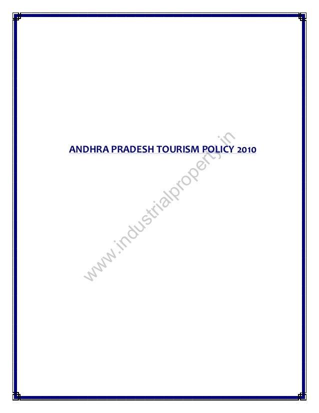 Andhra Pradesh tourism policy 2010