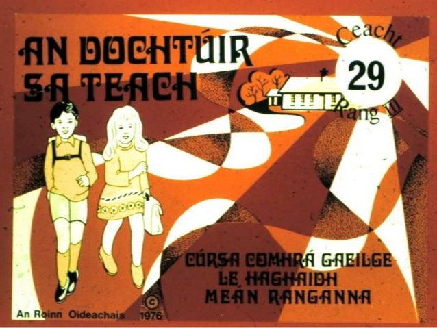 An Dochtúir sa Teach - Ceacht 29